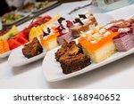 assortment of sweets thailand   Shutterstock . vector #168940652
