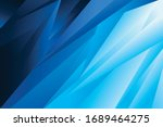 abstract blue vector background ... | Shutterstock .eps vector #1689464275