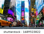 Times Square On A Beautiful...