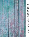 Shabby Mint Wood Background