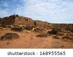 Ruins Of Chapora Fort Located...