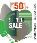 dynamic modern fluid mobile for ... | Shutterstock .eps vector #1689558328