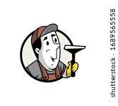vector illustration of a retro... | Shutterstock .eps vector #1689565558