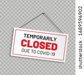 """realistic sign """"temporarily... 