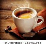 coffee. coffee espresso. cup of ... | Shutterstock . vector #168961955