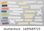 white and colorful different...   Shutterstock .eps vector #1689689725