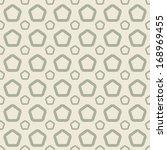 retro seamless tile. vector.  | Shutterstock .eps vector #168969455