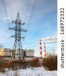combine heat and power station | Shutterstock . vector #168972332