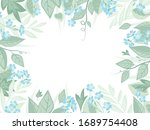 vector illustration blue... | Shutterstock .eps vector #1689754408