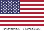 unites states of america flag.... | Shutterstock .eps vector #1689853108