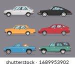 car icon vector logo template.... | Shutterstock .eps vector #1689953902