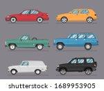 car icon vector logo template.... | Shutterstock .eps vector #1689953905