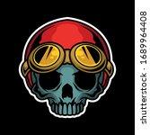 Cute Biker Skull For Commercial ...