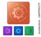startup icon vector. settings...