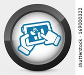 device levels icon | Shutterstock .eps vector #169000322