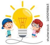 concept design for creative... | Shutterstock .eps vector #1690098865