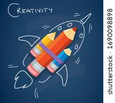 concept design for creative... | Shutterstock .eps vector #1690098898
