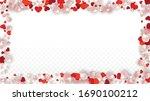 vector realistic petals and...   Shutterstock .eps vector #1690100212