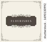 retro wedding invitations ...   Shutterstock .eps vector #1690130992