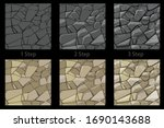 set of seamless texture stone...