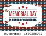 memorial day usa. celebrated in ... | Shutterstock .eps vector #1690258072