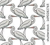 vector seamless pattern with... | Shutterstock .eps vector #1690282765