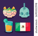 set of icons cinco de mayo... | Shutterstock .eps vector #1690332598