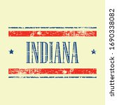 american indiana state text... | Shutterstock .eps vector #1690338082