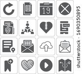 collection of 16 interface...