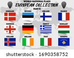 set of realistic official world ... | Shutterstock .eps vector #1690358752