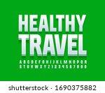 vector modern logo healthy... | Shutterstock .eps vector #1690375882