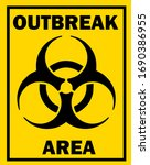 quarantine and outbreak alert... | Shutterstock . vector #1690386955
