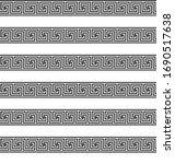 greek key seamless pattern or... | Shutterstock .eps vector #1690517638