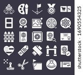 set of 25 border filled icons... | Shutterstock . vector #1690554325