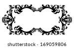 illustration of abstract frame... | Shutterstock .eps vector #169059806