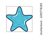 star fill style icon design sea ... | Shutterstock .eps vector #1690778185