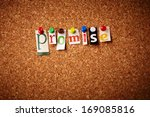 promise   cut out letters... | Shutterstock . vector #169085816