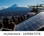 A Solar Cell Panel With The...