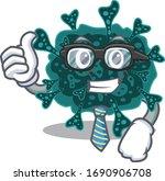 an elegant herdecovirus... | Shutterstock .eps vector #1690906708