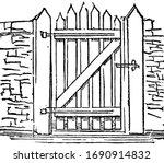 Gate  Port   Vintage Engraved...