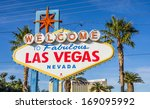 sign on las vegas strip nevada | Shutterstock . vector #169095992