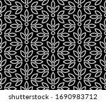 flower geometric pattern.... | Shutterstock .eps vector #1690983712