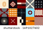 abstract geometric forms...   Shutterstock .eps vector #1691027602