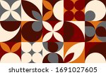 abstract geometric forms... | Shutterstock .eps vector #1691027605