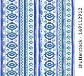 watercolor ethnic african... | Shutterstock . vector #169112912
