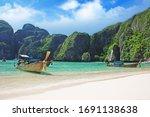 Maya Bay On Phi Phi Leh Island  ...