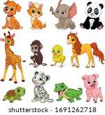 vector illustration set of... | Shutterstock .eps vector #1691262718