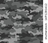 camouflage grey seamless... | Shutterstock .eps vector #1691281612