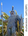 Large Scale Achilles Statue At...