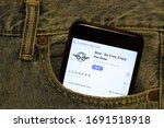 los angeles  california  usa  ... | Shutterstock . vector #1691518918
